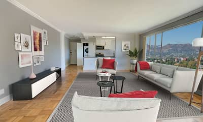 Living Room, Park La Brea, 1