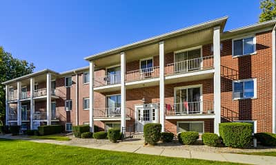 Building, Maple Crest Apartments, 0