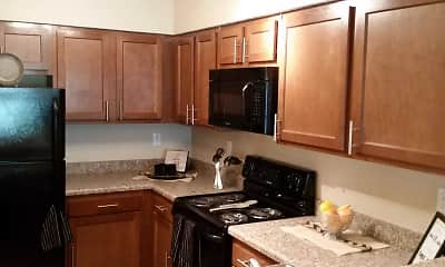 Kitchen, Eagle Creek Apartments, 0