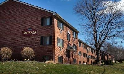 Building, Brook Edge Apartments, 1