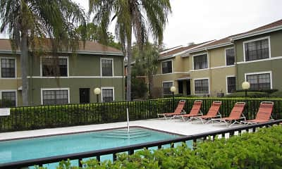 Pool, Pineview Apartments, 2