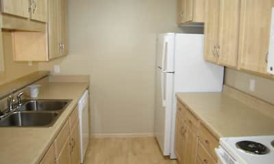 Kitchen, Park Villa Apartments, 1