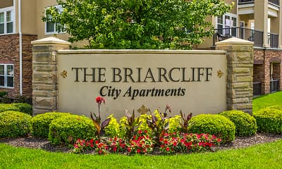 Community Signage, The Briarcliff City Apartments, 2