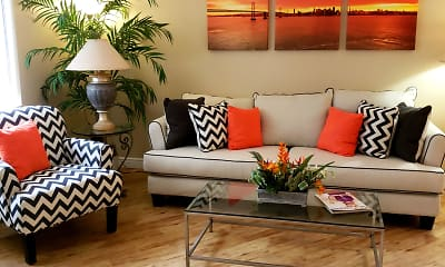 Living Room, The Scottsdale Belle Rive, 1