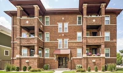Building, Oak Park Residence Corporation Apartments, 0