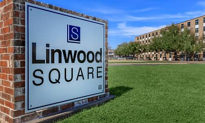 Community Signage, Linwood Square, 2