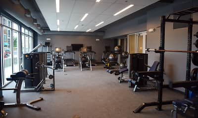 Fitness Weight Room, The 505 Student Living, 2