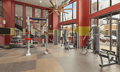 Fitness Weight Room, Northpoint Crossing, 1