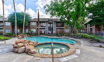 Pool, Eagles Landing Apartments, 1