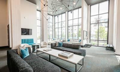 Living Room, Brea Luxury Apartments, 1