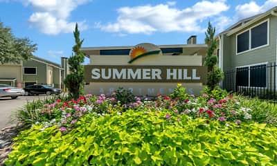 Community Signage, Summer Hill, 2