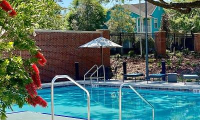 Pool, Flats at Tioga Town Center, 0