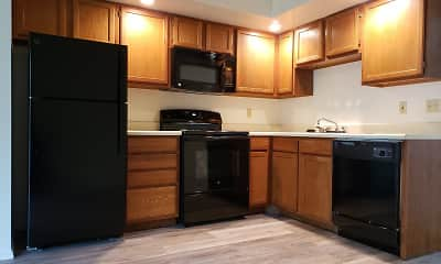 Kitchen, Maple Lane Apartments, 1