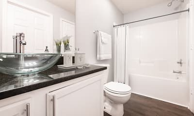 Bathroom, Crown Point at Sunset Drive, 2