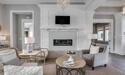 Living Room, Hampton Place, 1