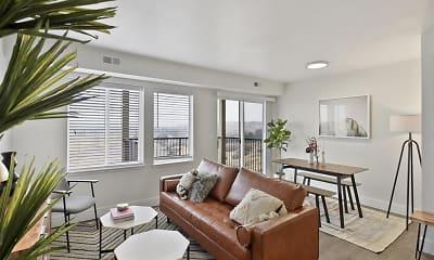 Living Room, Columbia Village, 1