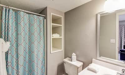 Bathroom, Stadium Walk Apartments, 2