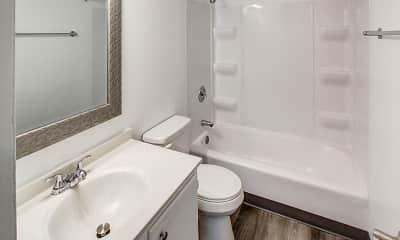 Bathroom, Highland Club Apartments, 2