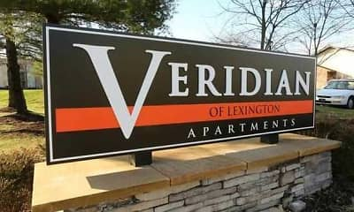 Community Signage, Veridian of Lexington, 1