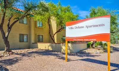 Community Signage, Villa Delano Apartments, 2