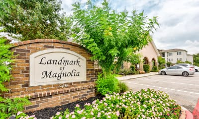 Community Signage, Landmark Of Magnolia, 2