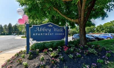 Community Signage, Abbey Walk, 2