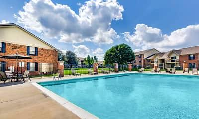 Pool, Dovetree Apartments, 0