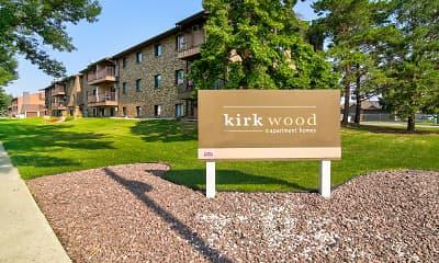 Community Signage, Kirkwood Manor Apartments, 0