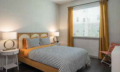 Bedroom, Rockledge Flats Apartments, 2