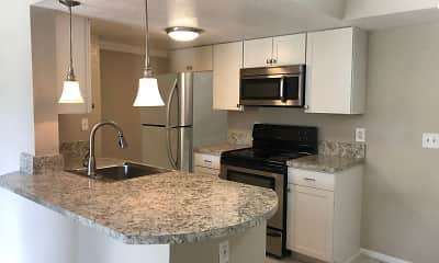 Kitchen, Aventura Orlando Apartments, 1