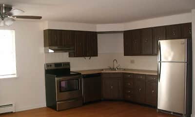 Kitchen, Losson Garden Apartments, 1