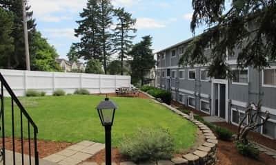 Building, Crestwood Court, 1