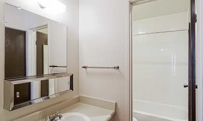 Bathroom, Pine Creek Apartments, 2