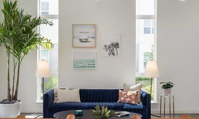 Living Room, Rockledge Flats Apartments, 0