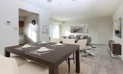 Dining Room, Glen Mar Apartment Homes, 1
