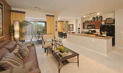 Living Room, Sonata Apartments, 1