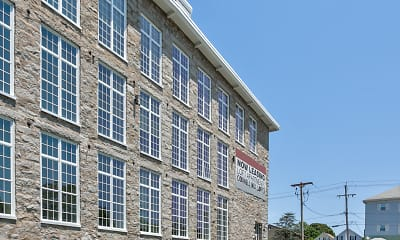 Building, Cornell Mill Lofts, 1