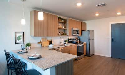 Kitchen, The Julian, 0