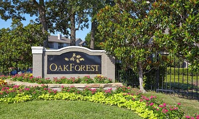 Community Signage, Oak Forest, 0