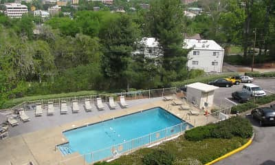 Pool, Terrace Apartments, 1