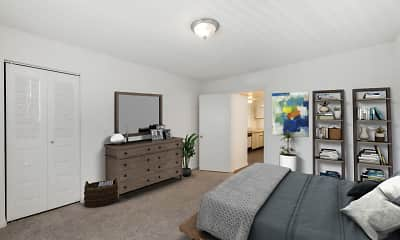 Bedroom, The Reserve at Ashley Lake Apartments, 2