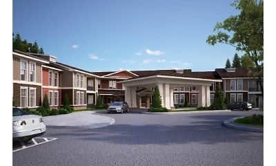 Building, Lodge at Johns Road, 0
