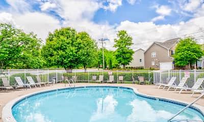 Pool, Catawba Apartment Homes, 2