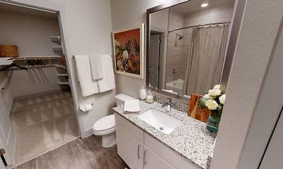 Bathroom, Talus Flats, 2