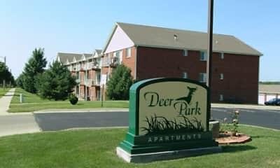 Community Signage, Deer Park Apartments, 2