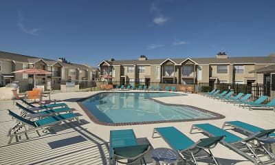 Pool, Addison Apartments at the Park, 1