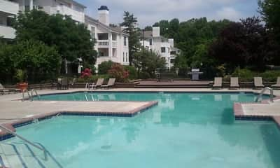 Pool, The Apartments At Pike Creek, 2