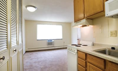 Kitchen, Loring Towers, 1