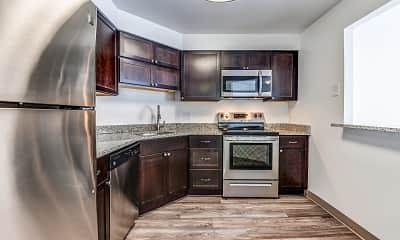 Kitchen, Pleasant Plaza, 1