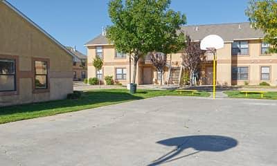 Basketball Court, Crescent Ridge Apartments, 2